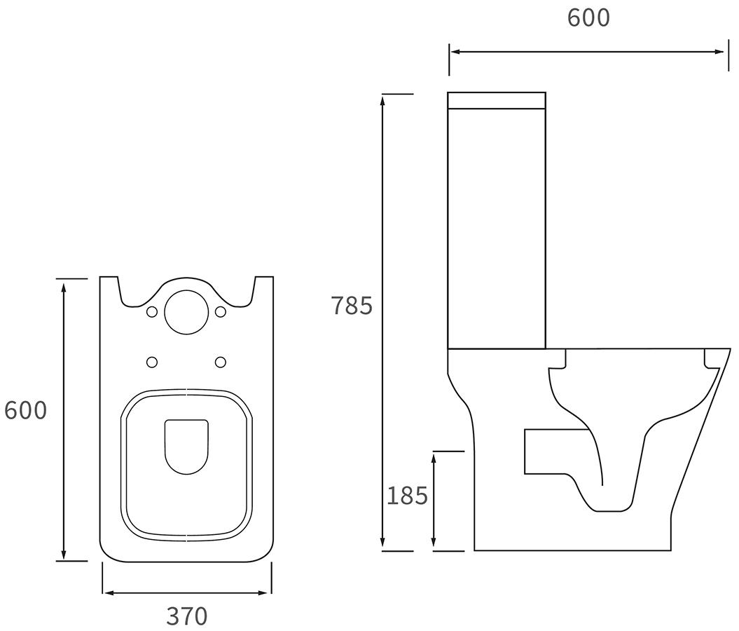 Technical drawing B3-11080 / DIPTP0170