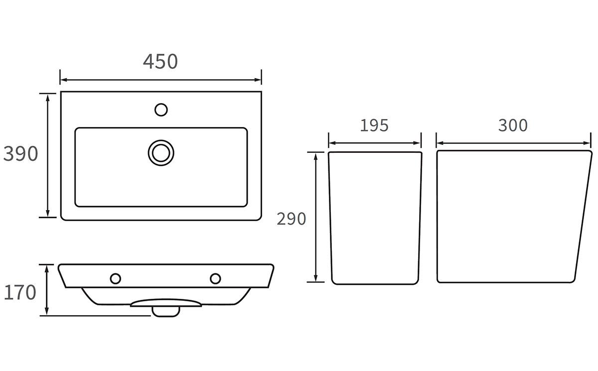 Technical drawing B3-12051 / DIPBP1042