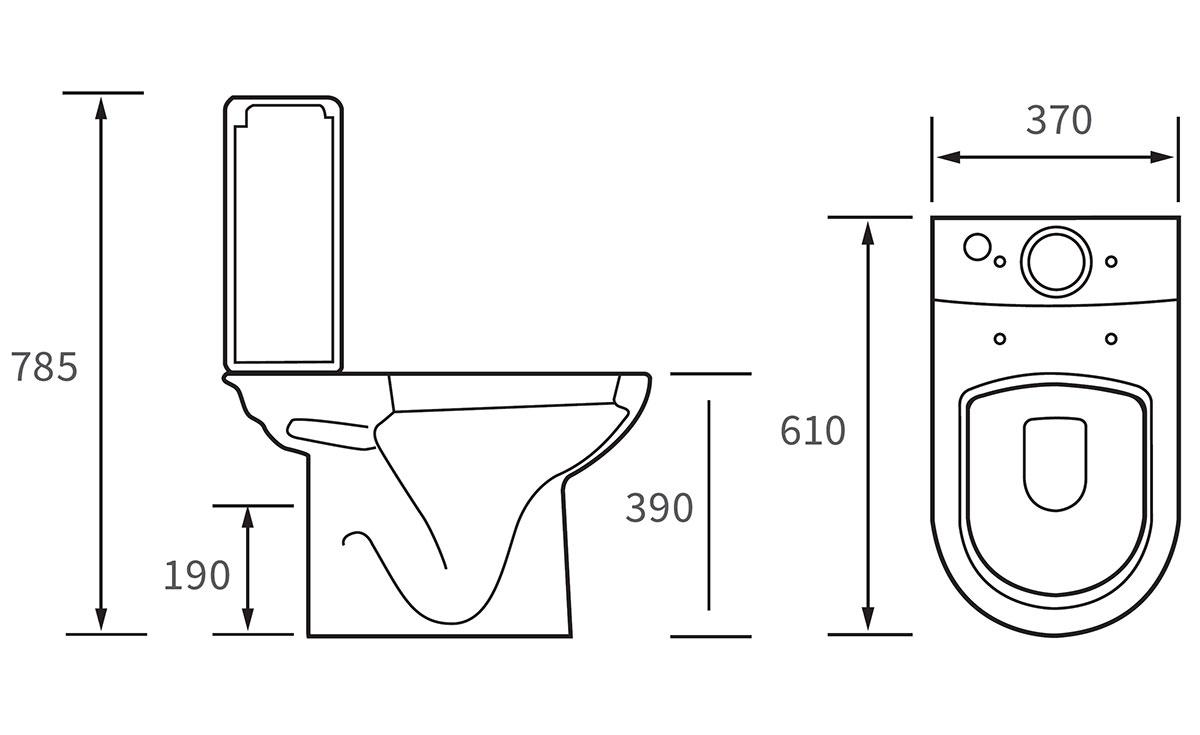 Technical drawing B3-12062 / DIPTP044