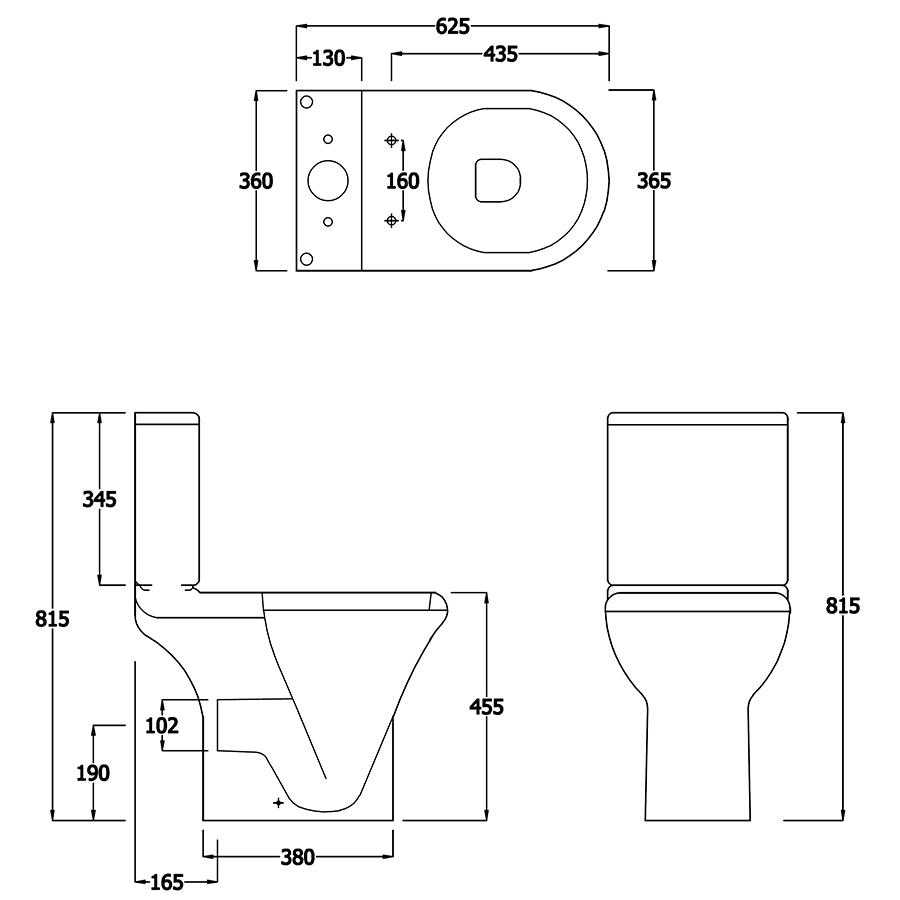 Technical drawing B3-15121 / EC1015