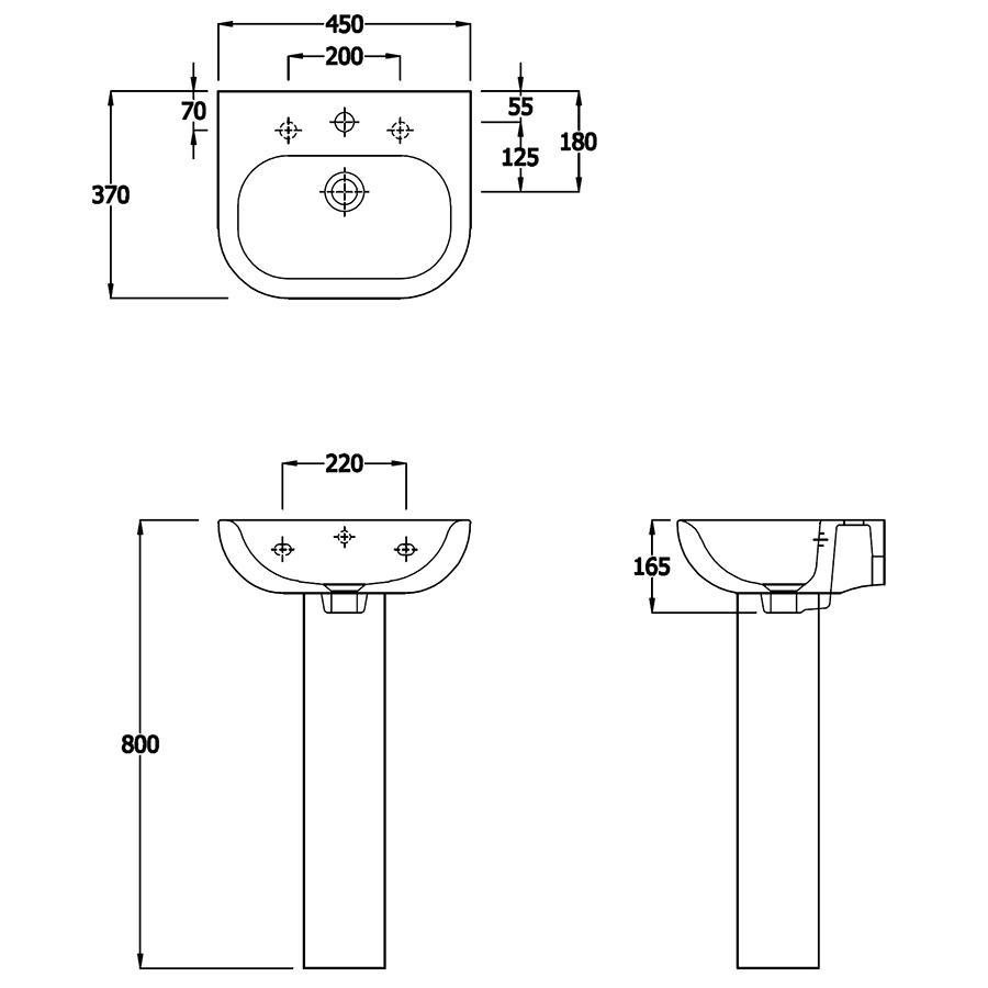 Technical drawing B3-15114 / EC1007