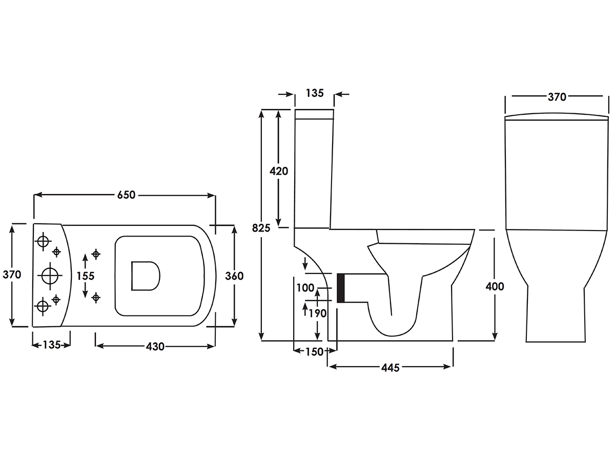 Technical drawing B3-15128 / EC5007