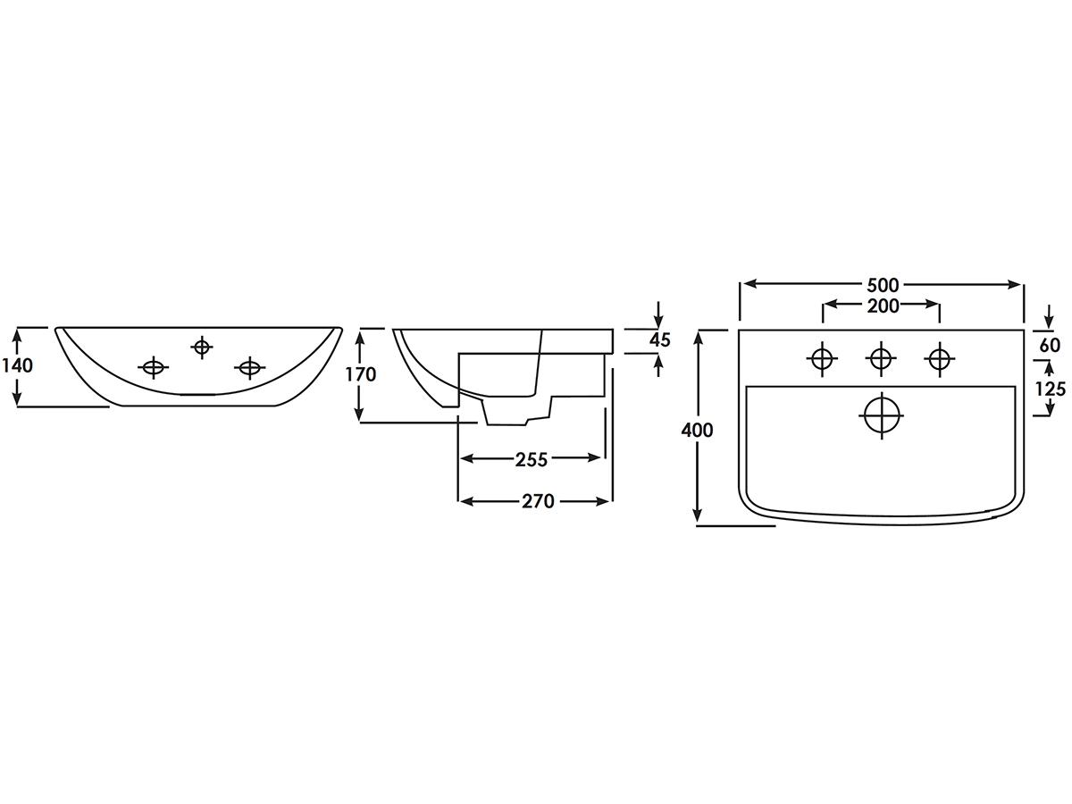 Technical drawing B3-15127 / EC5006