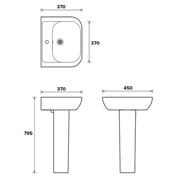 Technical drawing B3-16085 / EC4006