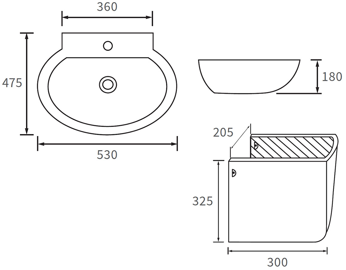 Technical drawing B3-12027 / DIPBP1034