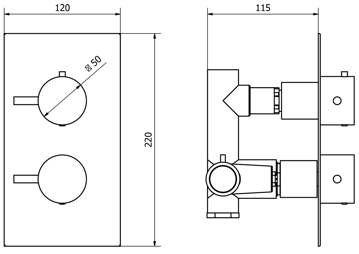 Technical drawing B3-11146 / TRCV02