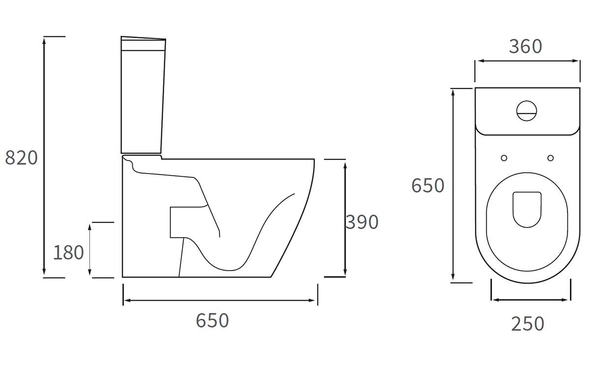 Technical drawing B3-12018 / DIPTP0110