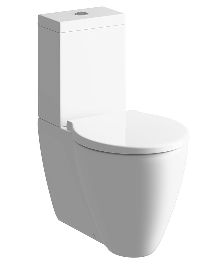 cream toilet seat soft close.  Cream Close Coupled Pan And Cistern With Soft Seat