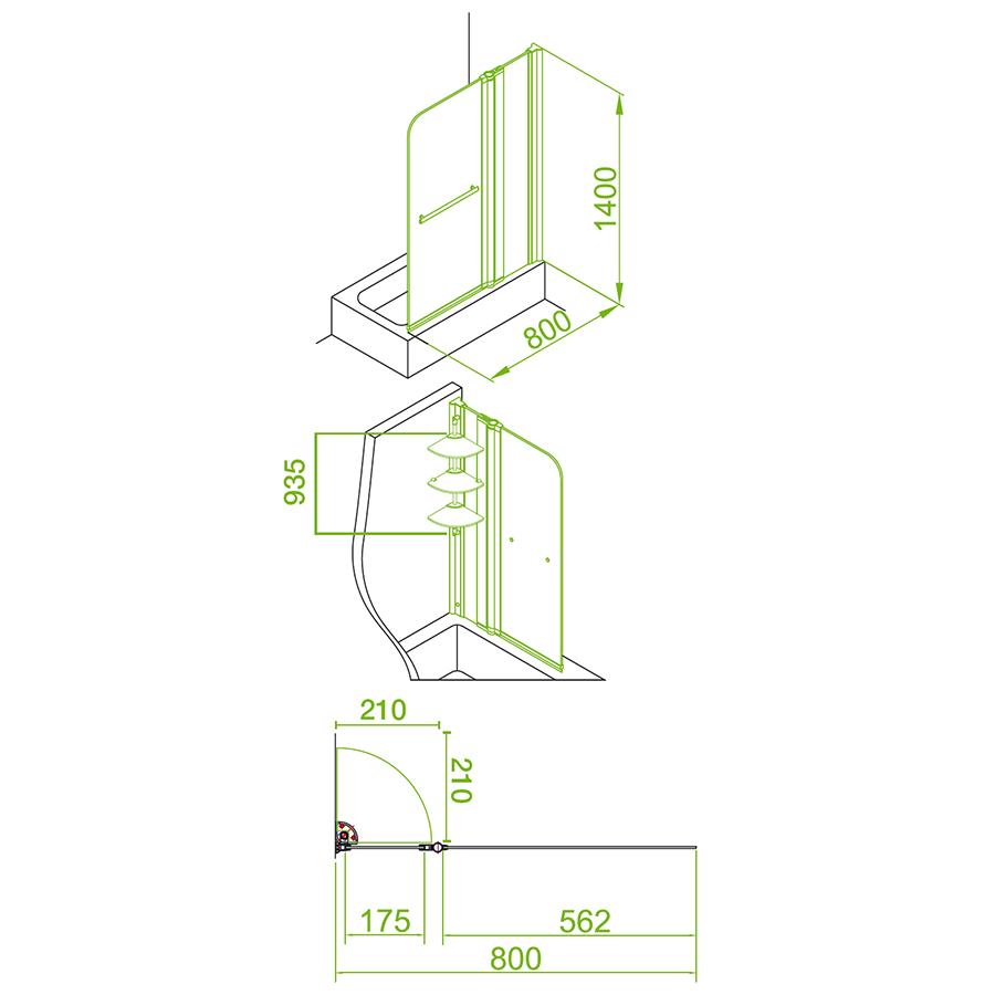 Technical drawing B3-16062 / EB304