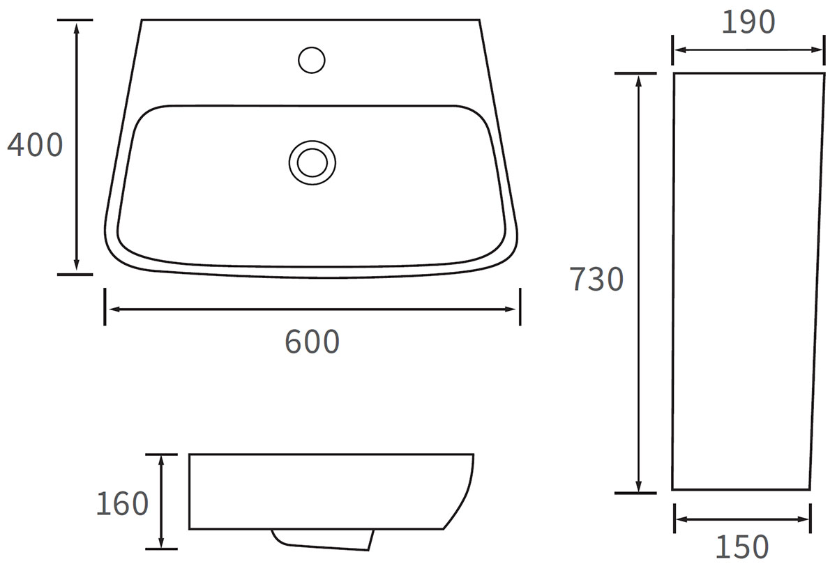 Technical drawing B3-12031 / DIPBP1090