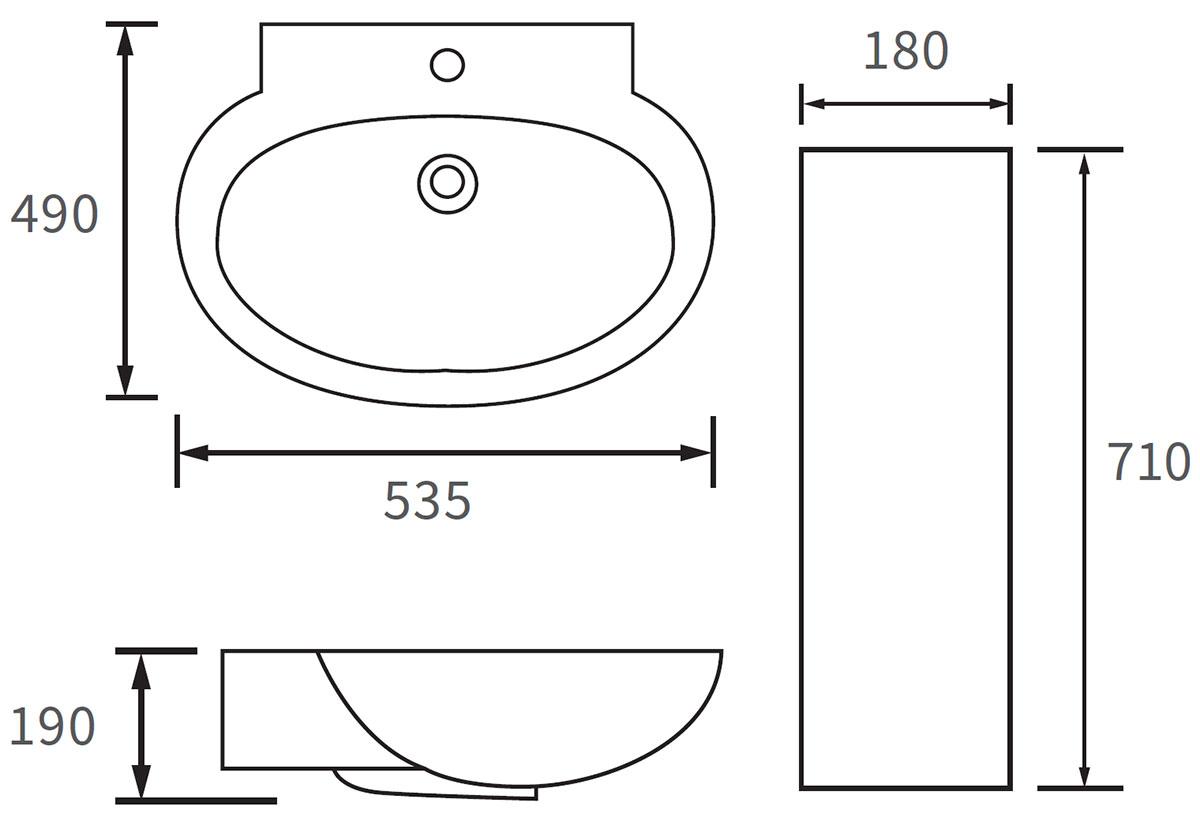 Technical drawing B3-12041 / DIPBP1096