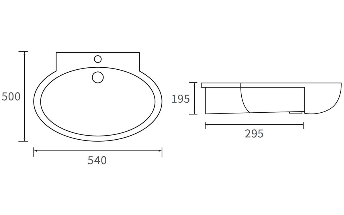 Technical drawing B3-12043 / DIPB1018
