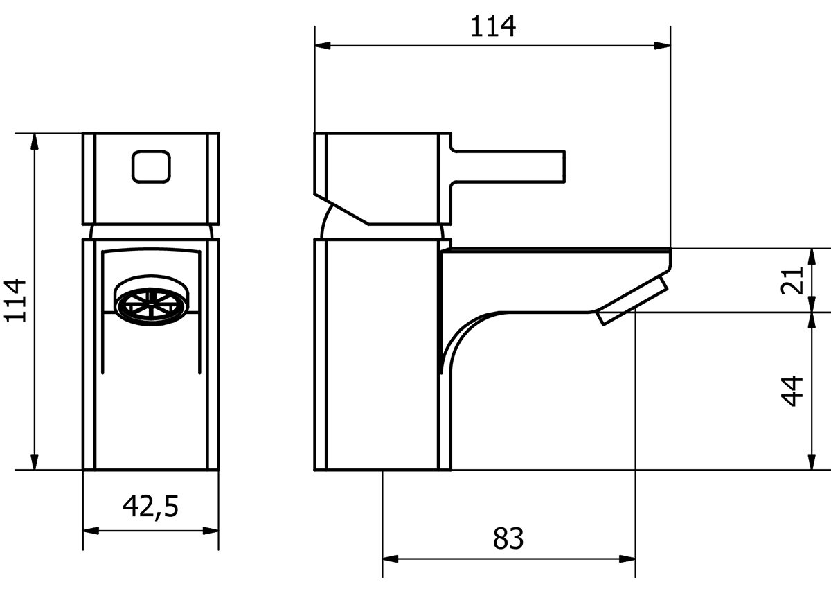 Technical drawing B3-15184 / NER001-s