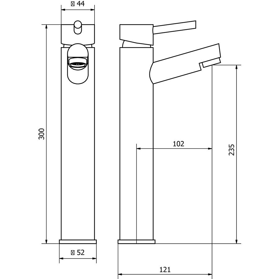 Technical drawing B3-15186 / DAL004