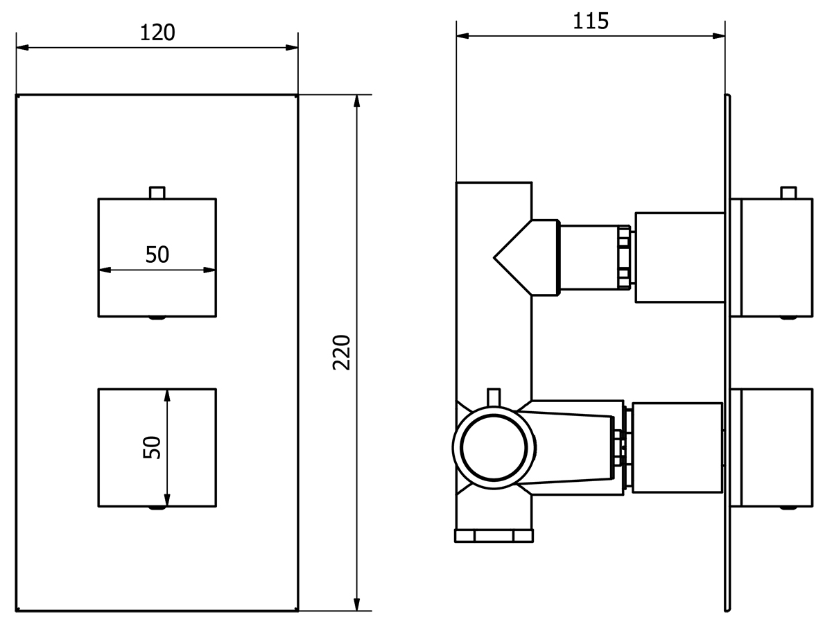 Technical drawing B3-11148 / TSCV01