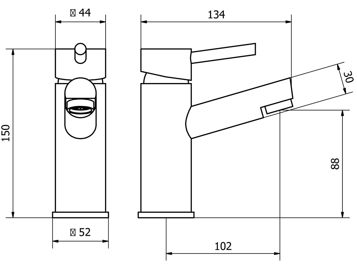 Technical drawing B3-15187 / DAL001