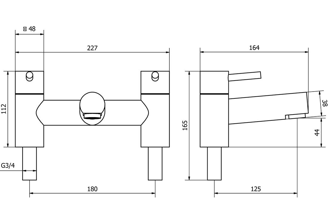Technical drawing B3-15188 / DAL003