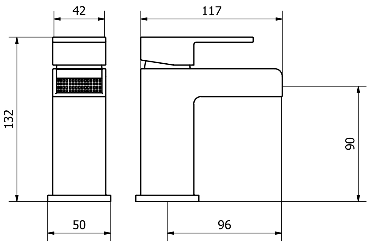 Technical drawing B3-14115 / DUK001