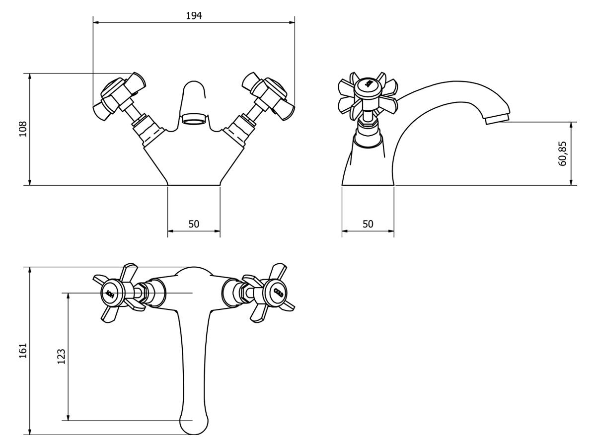 Technical drawing B3-14129 / TIM003