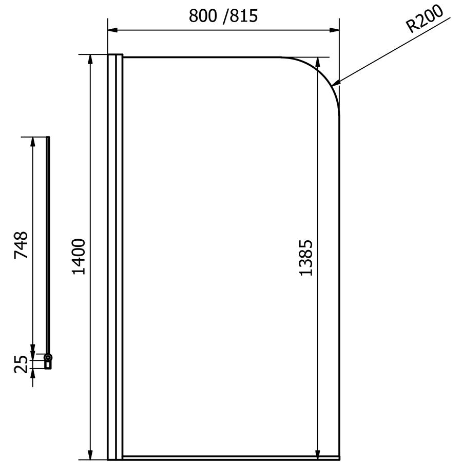 Technical drawing B3-14136 / CEL001