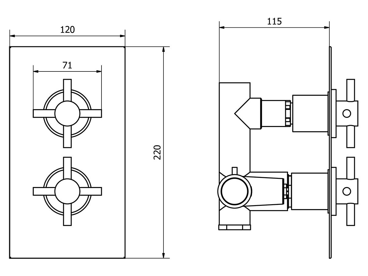 Technical drawing B3-11145 / TCCV03