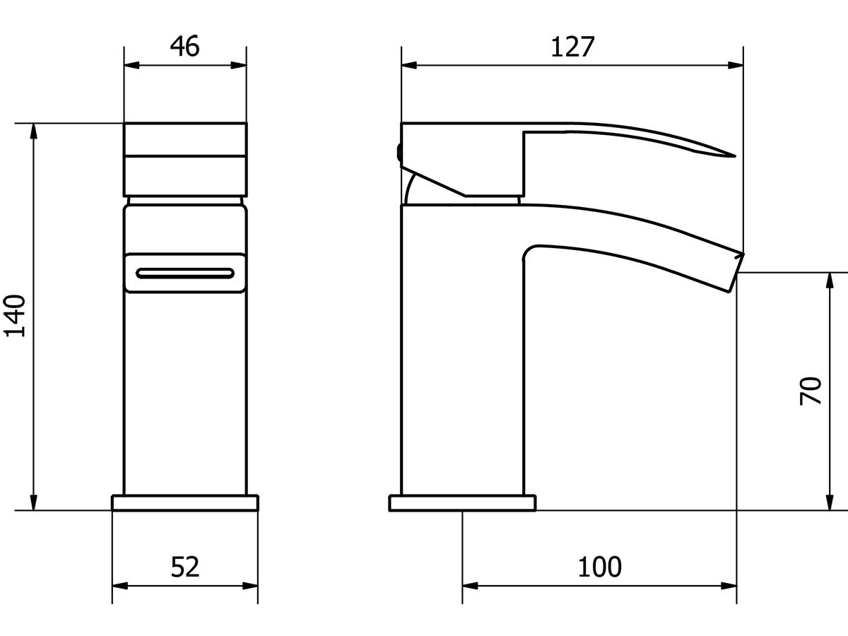 Technical drawing B3-14124 / PEK001-s