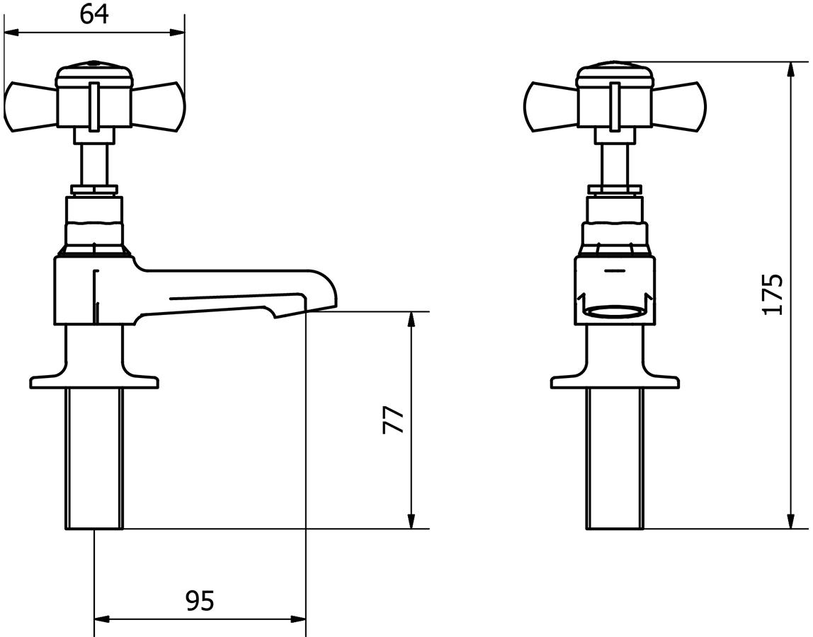 Technical drawing B3-14125 / TIM004