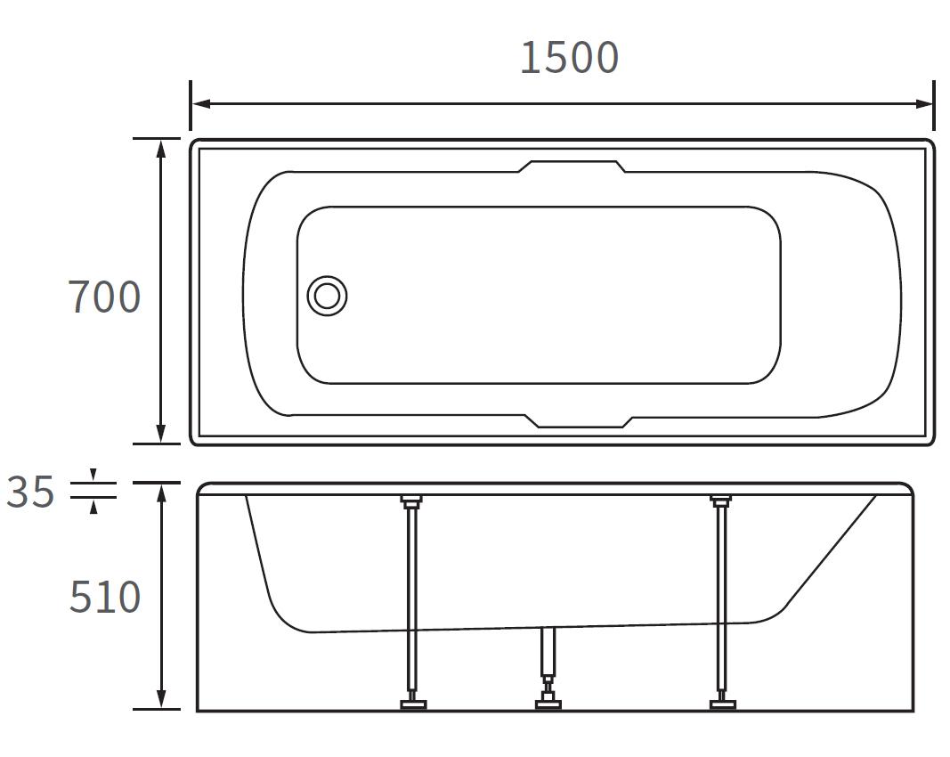 Technical drawing B3-10092 / DIBR0026
