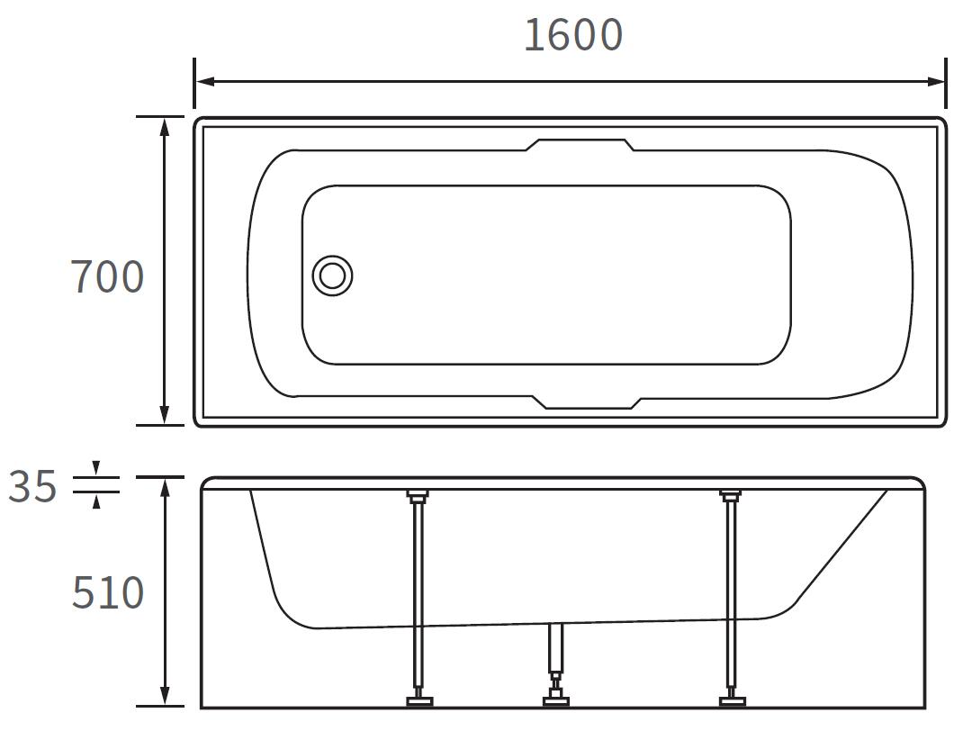 Technical drawing B3-10090 / DIBR0028