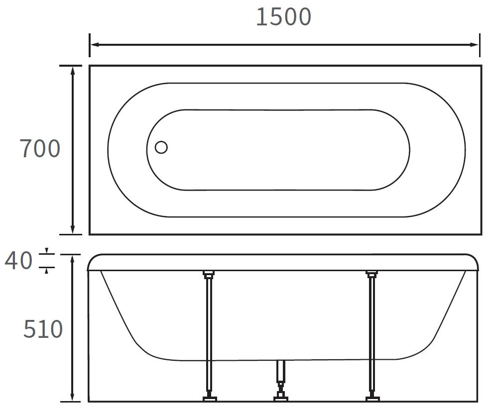 Technical drawing B3-10095 / DIBR0044