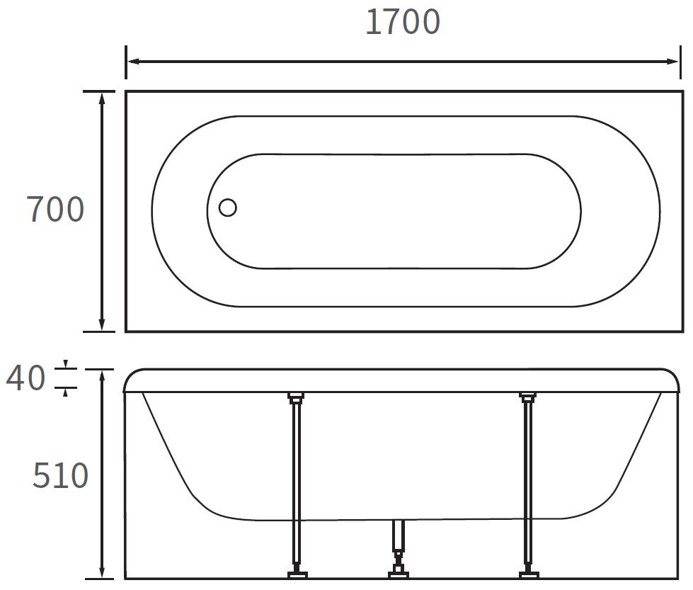 Technical drawing B3-10101 / DIBR0014