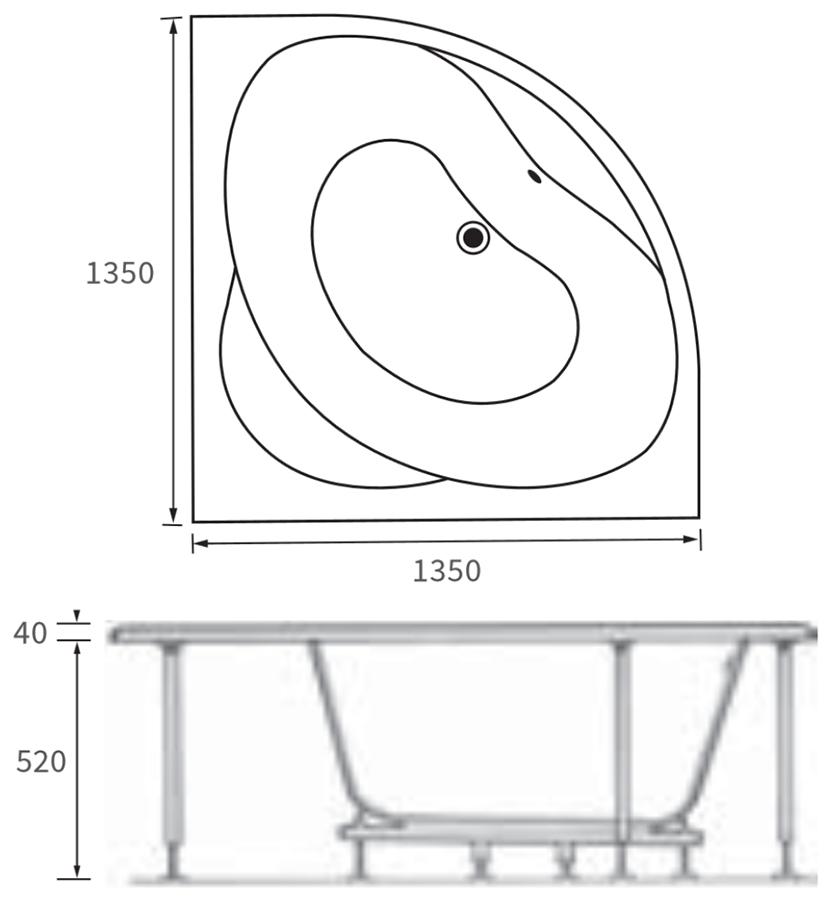 Technical drawing B3-10185 / DIBC0010