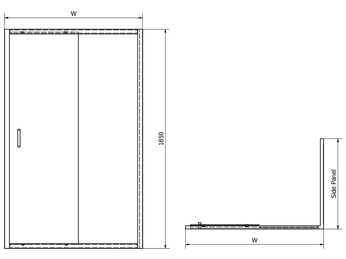 Technical drawing B3-15208 / SLD100