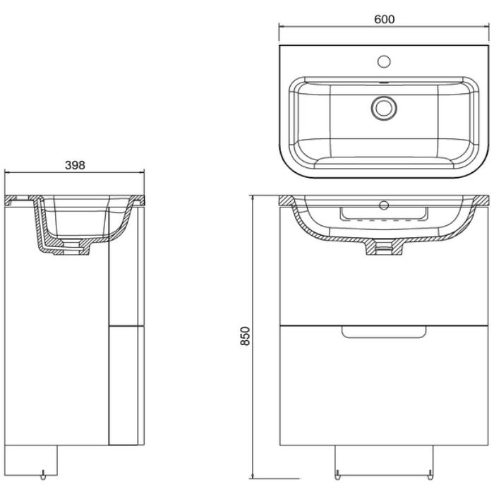 Technical drawing B3-11262 / ACM1W