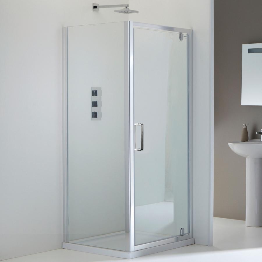 Champlain Ii Pivot Shower Door 800mm