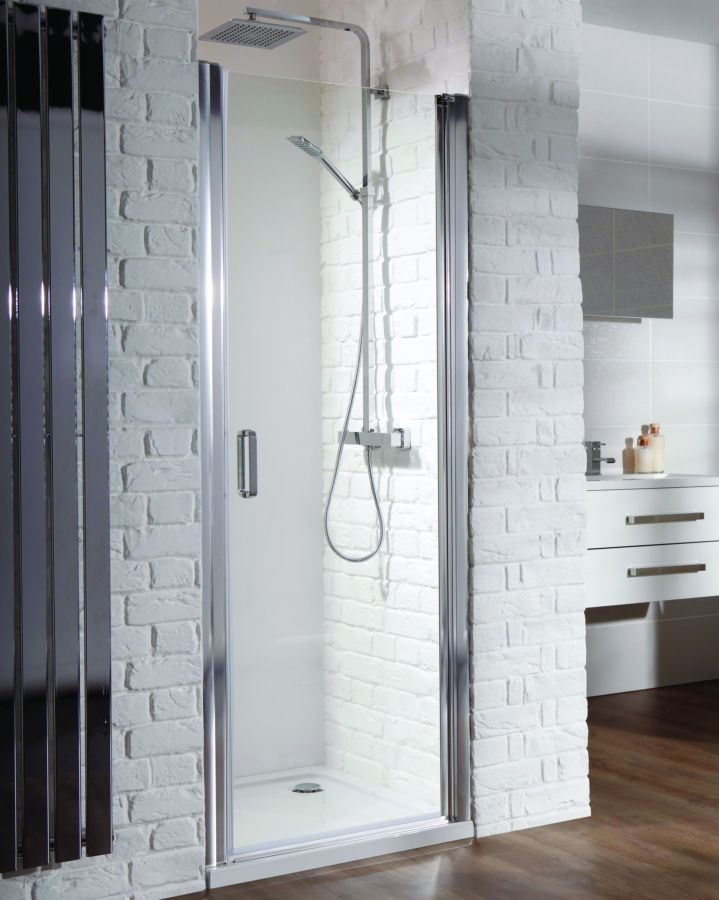 Champlain II Hinged Shower Door 700mm