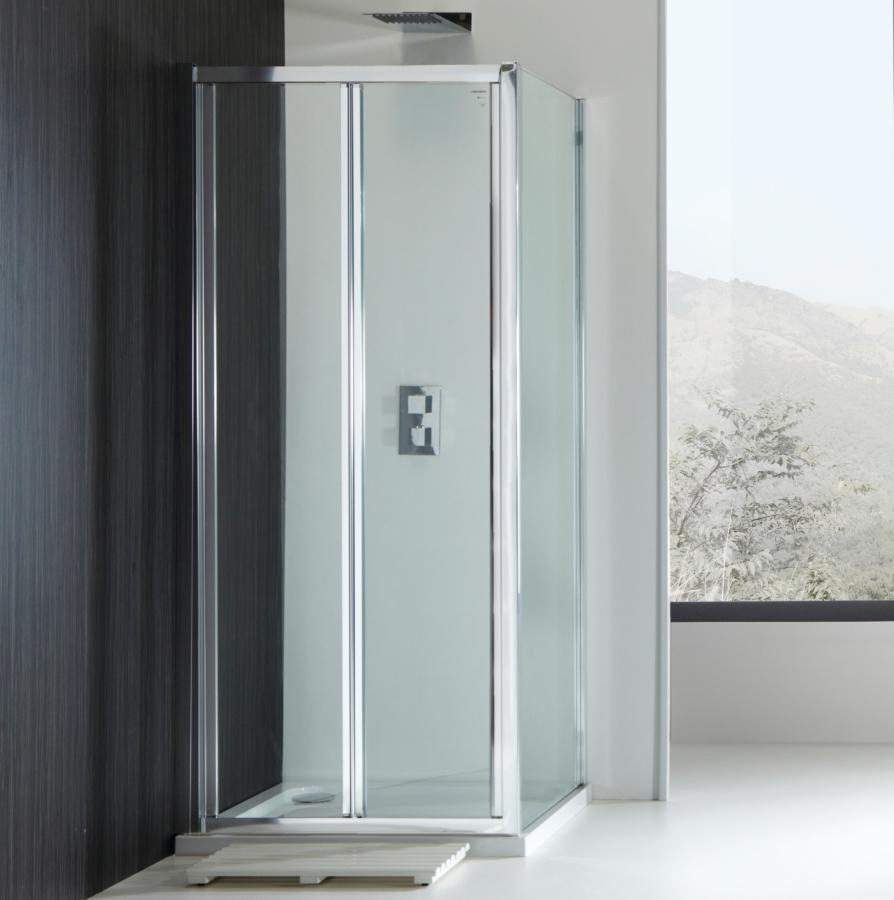 Champlain II 4mm Bi-Fold Shower Door 760mm