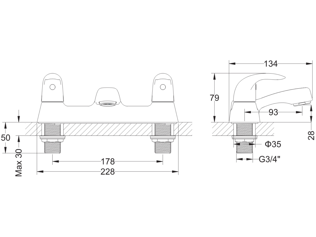 Technical drawing B3-12177 / MBSY322D