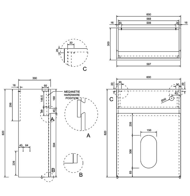 Technical drawing B3-11330 / AW31G