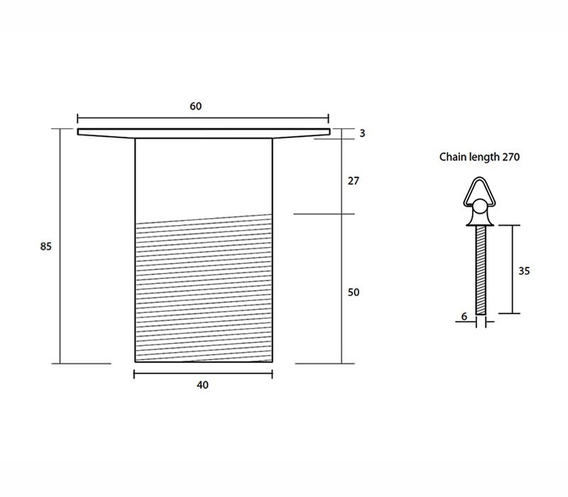 Technical drawing B3-20287 / XO60110100