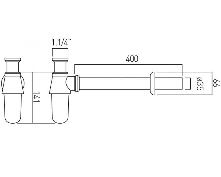 Technical drawing B3-19308 / PEX-460/UK-1.1/4-C/P