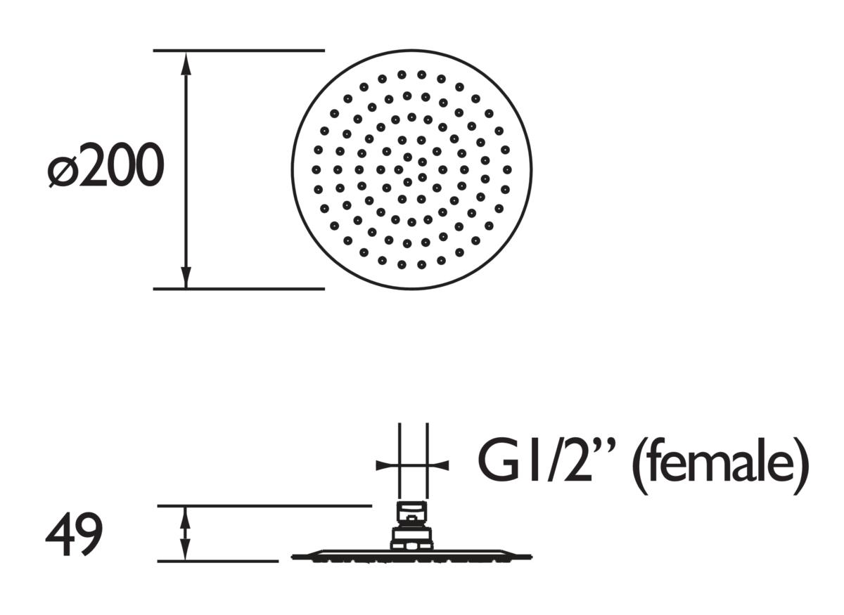 Technical drawing B3-21585 / FH SLRD01 C