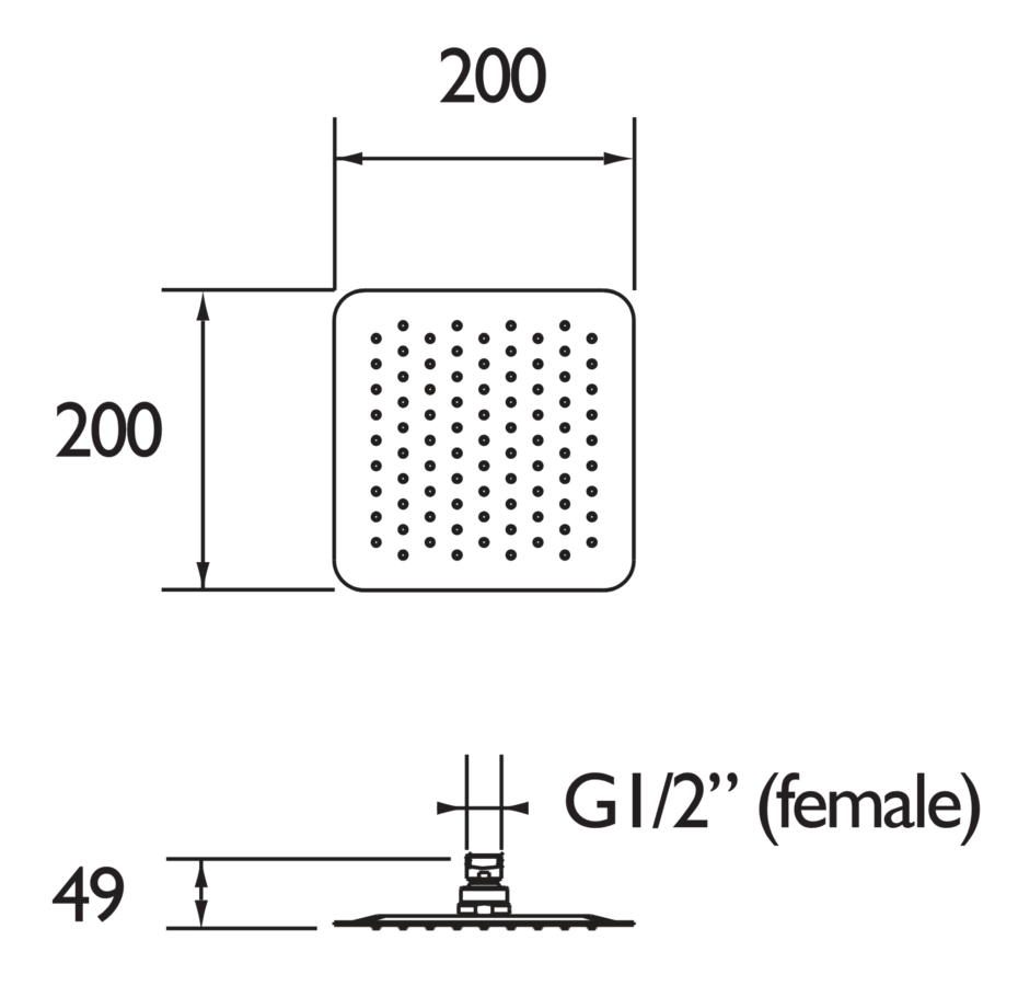 Technical drawing B3-21586 / FH SLSQ01 C