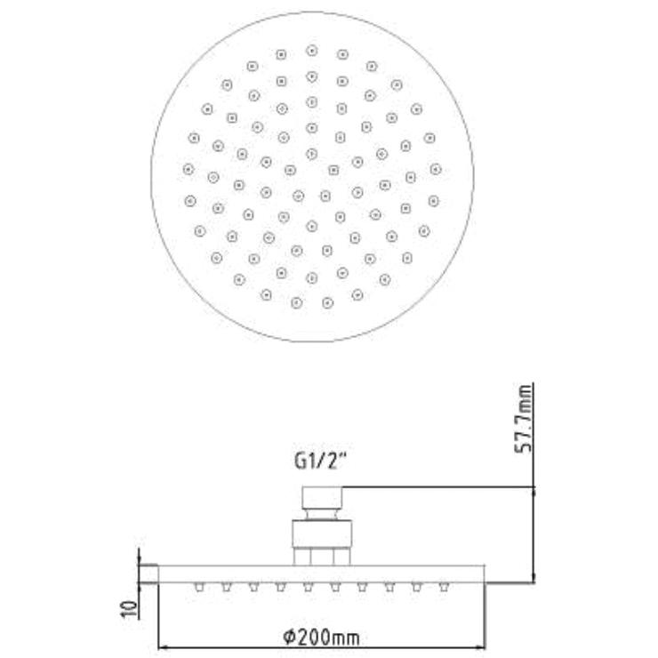 Technical drawing B3-12320 / STY069