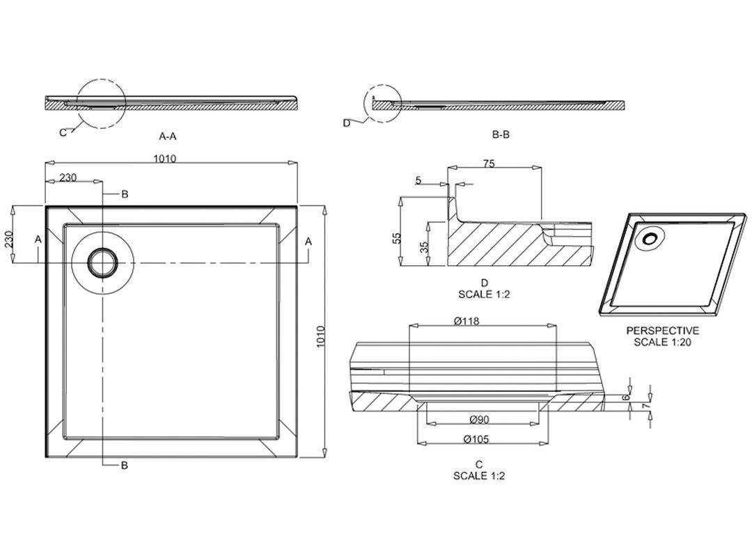 Technical drawing B3-21366 / Z1411