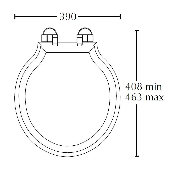 Technical drawing B3-14683 / XE50000120NSB