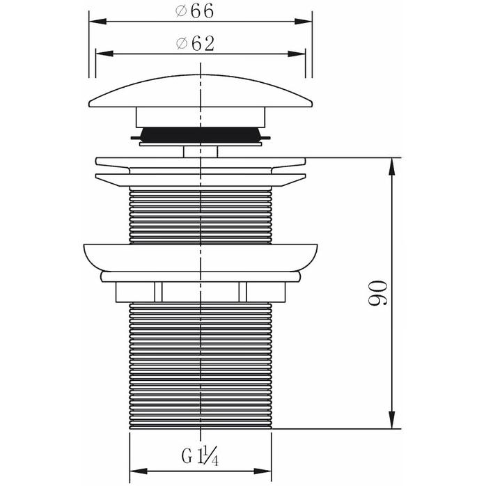 Technical drawing B3-16342 / CB101