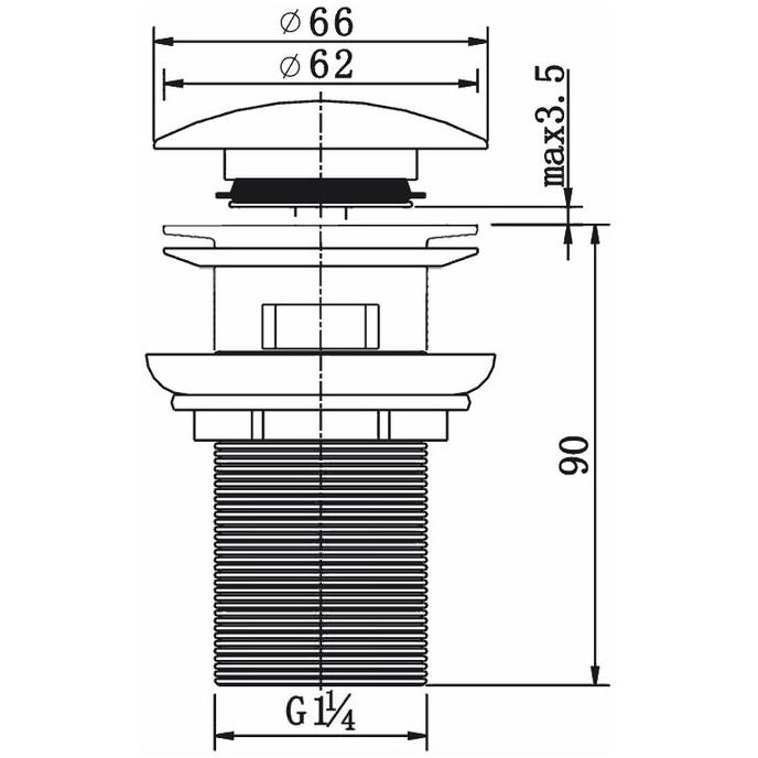 Technical drawing B3-16341 / CB100