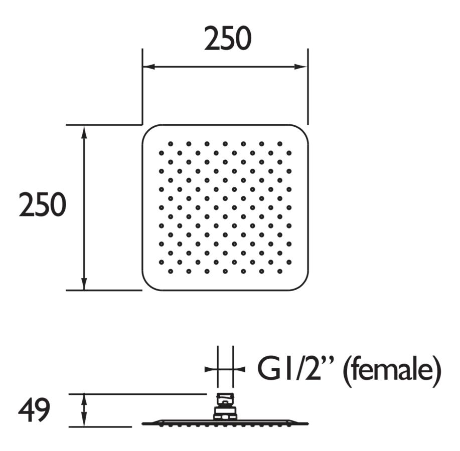 Technical drawing B3-21587 / FH SLSQ02 C