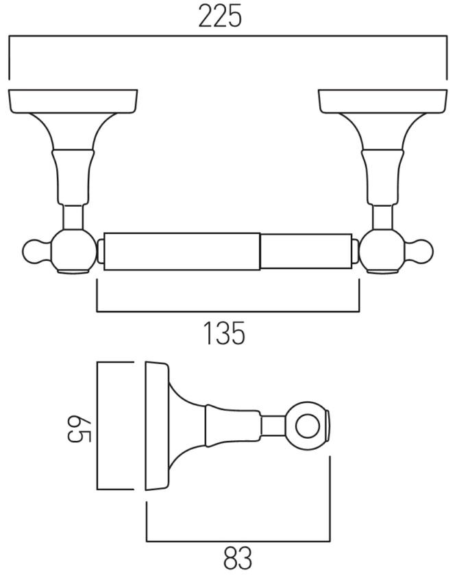 Technical drawing B3-19462 / TOU-180A-C/P